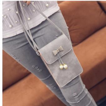 Túi đeo chéo điện thoại Diamon02(xám)