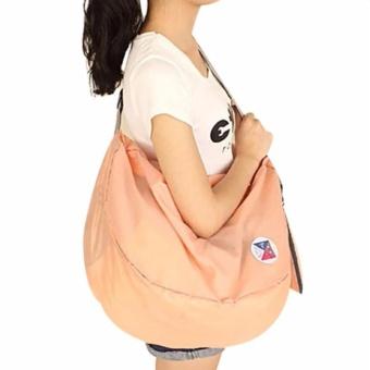 Women 3-Way Travel Cosmetic Bag Portable Folding Backpack - intl