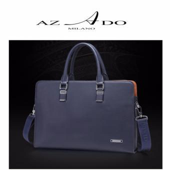 Túi Công sở nam cao cấp TV121, thời trang Azado (xanh đen)