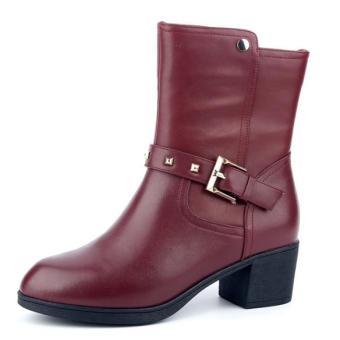 Giầy Boot nữ hiệu Aokang hàng mới 100%. Size 35 mã 16291114935