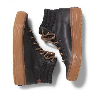 Giày cao cổ nữ Keds (Đen)