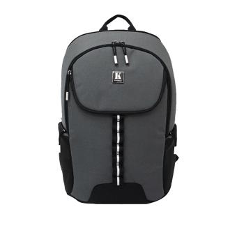 Ba lô Laptop cao cấp Kimta PHONENIX PPN0114GY-BL (Xám viền đen)