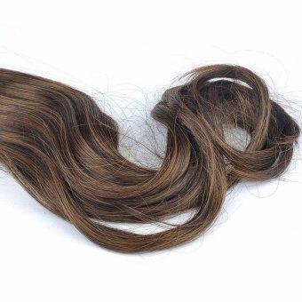 Moonar Fashion Women Long Curls Ponytail hair Wig Horsetail Hairpiece #3