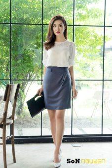 Áo kiểu nữ 03301 (Trắng)
