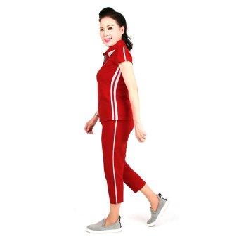Đồ bộ nữ trung niên Ugether UPAR20 (Đỏ)