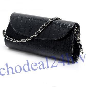 Ví nữ kiêm túi xách CDV02 ( đen)