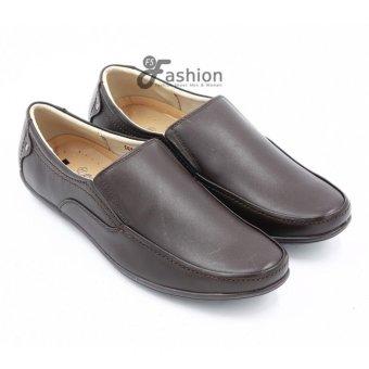 Giày Mọi Nam Da Thật GM225 (Nâu)