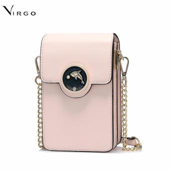 Túi điện thoại đeo cổ Cá heo màu hồng VG255