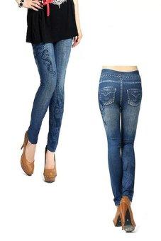 Bộ 2 quần legging Huy Kiệt HK101 (Xanh Đen)
