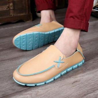Giày Lười Sytle Hàn Quốc Màu Cá Tính - Ls 851