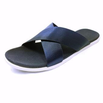 Sandals Quai Chéo Nam Ensado DE04 (Xanh Lam)