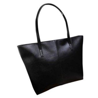 Fashion Handbag Lady Shoulder Bag Tote Purse Leather Women Messenger - intl