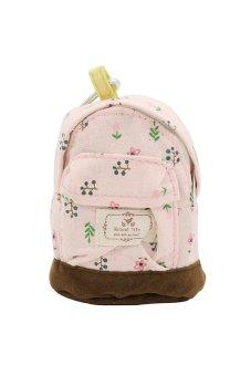 Bluelans Flower Case Backpack (Pink) (Intl)