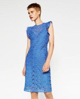 Đầm Kiểu Zara (Xanh)