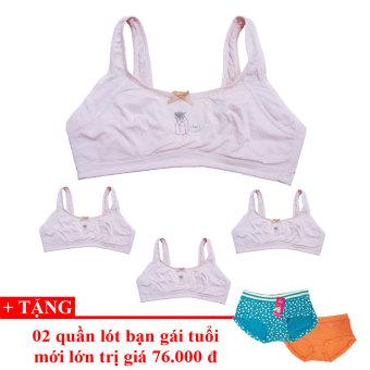 Bộ 4 áo lót bạn gái tuổi mới lớn - HM4 + TẶNG 02 QL teen