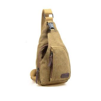 Túi đeo chéo thời trang - HS001 (Nâu sáng)