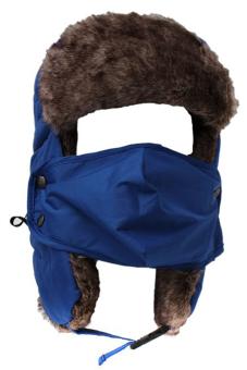 LALANG Bomber Aviator Hat (Blue)