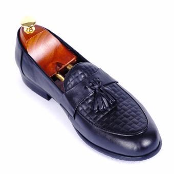 Giày tây nam da thật cao cấp Da Giày Việt Nam - VNLMT20VCT8D-1 (Đen)