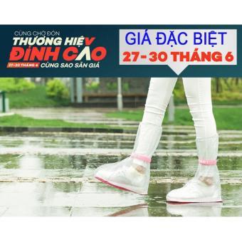 Bao bọc giày đi mưa cho Nữ đế dày, chống trơn trượt - Size XL