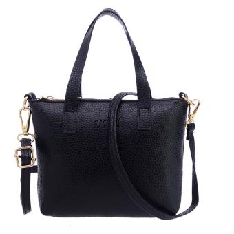 Women Messenger Bag Shoulder Bag(Black) - intl