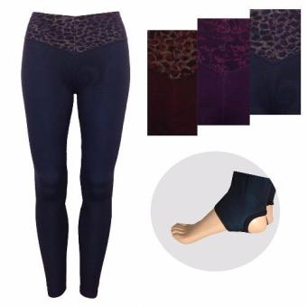 Quần legging nữ 3D ánh màu giẫm gót - Lybishop