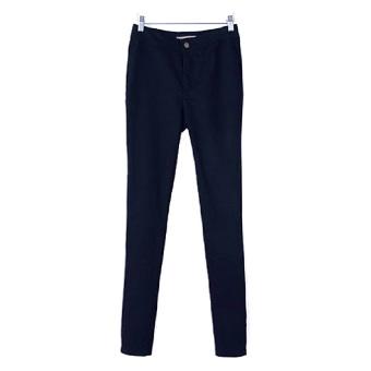 Quần chun cạp cao skinny jeans nữ SoYoung WM SKINNY jeans 003 XH_x000D_ TIM THAN (Tím than)