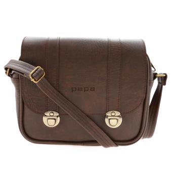 Túi đeo chéo PAPA PPT004 (màu nâu)