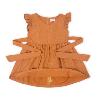 Đầm bé gái Oiwai 68-4067-411 BRN (nâu)