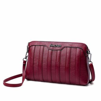 Túi xách nữ cao cấp phong cách trẻ trung JLD094 (Đỏ đô) - 3965341