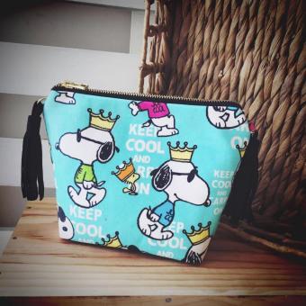 Crossbody Bag Họa Tiết Snoopy Trum Bo Handmade CBB25 - Boho