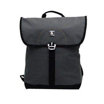 Ba lô Laptop Kimta LEO PLE0114GY-BL (Xám viền đen)