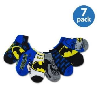 Set 7 đôi vớ bé trai DC Comics Boys No Show Socks