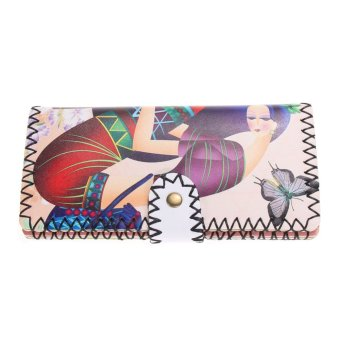 New style ancient women wallets luxury women clutch wallet(19) - intl