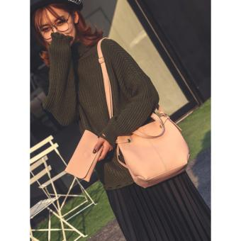 Túi nữ kèm ví thời trang (Hồng) Thoitrangkm