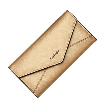 Fashion Womens Girls Wallet Card Holder Coin Purse Clutch Handbag Long - intl