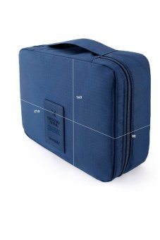 Túi du lịch đựng đồ cá nhân Monopoly dành cho Nam- chodeal24h (Xanh dương)