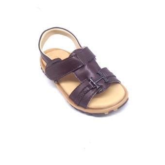 Giày baby sandal bé trai Mattino (Nâu)