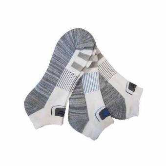 Vớ Nam thể thao cao cấp Sofsole Sport Grey 3 đôi