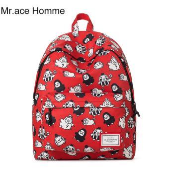 Balo Thời Trang Mr.ace Homme MR17A0482B01 / Đỏ