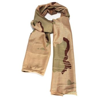 Collectable Military Net Mesh Camouflage Scarf - intl
