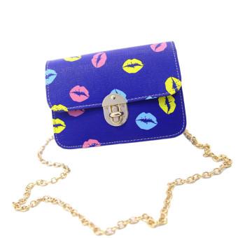Fashion Women Handbag PU Shoulder Bag Satchel Messenger Bag Hobo Tote Blue