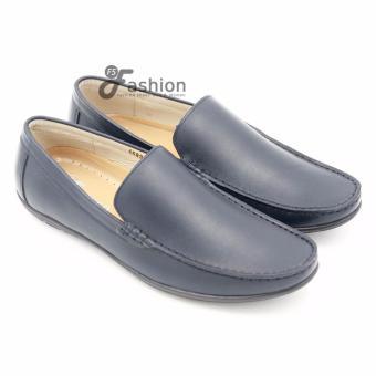 Giày Mọi Nam Da Thật GM229 (Xanh)