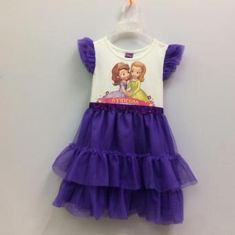 Đầm Bé Gái Disney Sofia Sfdr-0023