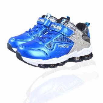Giày thể thao bé trai Mickey S79369 từ 6-12 tuổi (xanh lam)