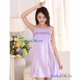 Đầm Ngủ Phi Bóng Ren Ngực Chodeal24.vn CDANP01