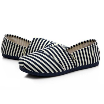 Giày nữ bánh mì kiểu dán đơn giản cá tính cho nàng tung tăng -158 (Đen)