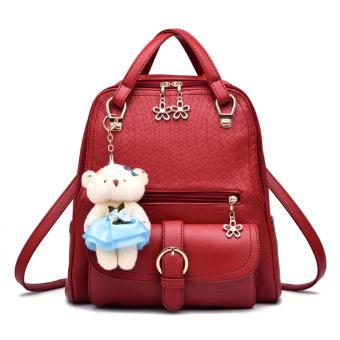 Balo thời trang nữ BL023 (Đỏ)