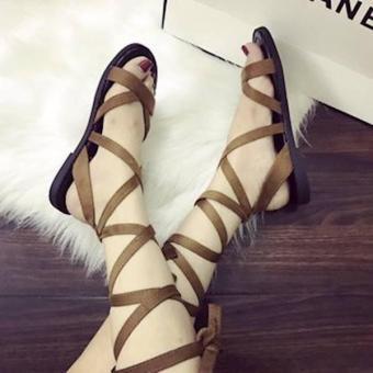Giay Sandal CộT Dây Siêu Cute -Pll1385