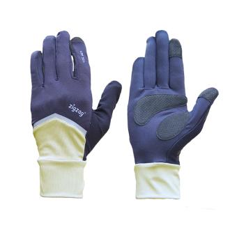 zigzag GLV01003- Găng tay Nonstop chống nắng UPF50+ (kem đen)