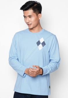 Áo phông OASIS Thái Lan MTXL664 (Xanh)